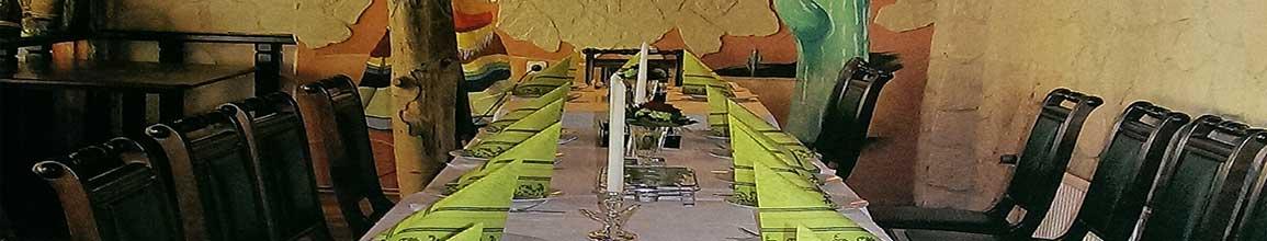 Restaurant Tacos Stade - Gedeckte Tafel